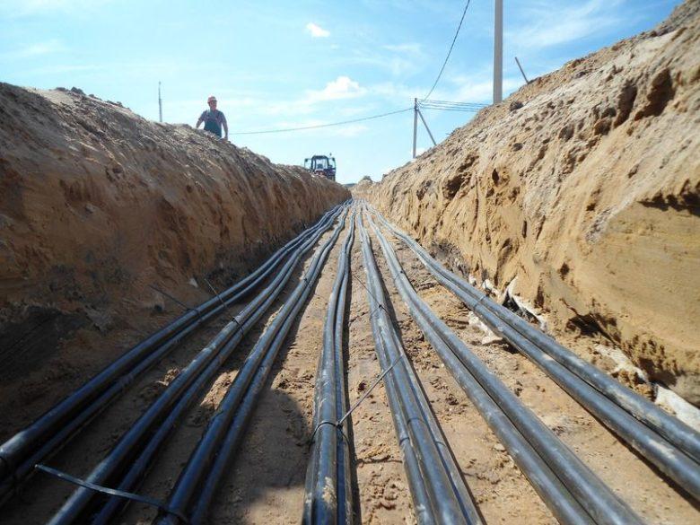 Строительство трубопровода кабельной канализации СЦБ на жд станциях и перегонах