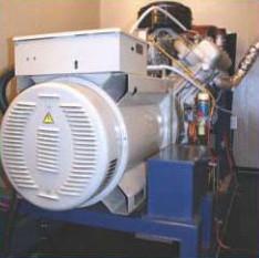 Дизель-генераторный агрегат ДГА на раме