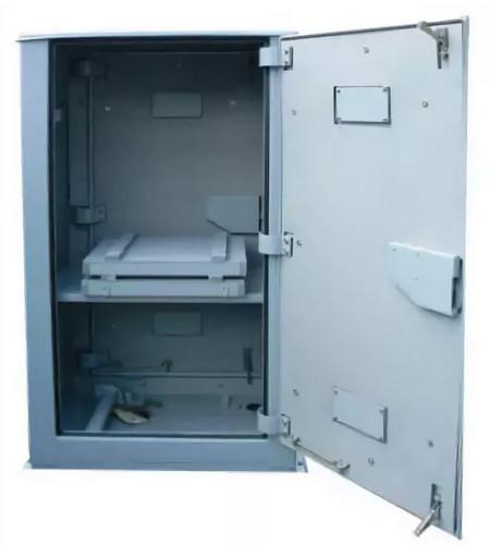 Шкаф батарейный металлический ШМБ