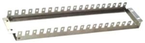 """Конструктив под кронштейны 19"""", 2U, для крепления плинтов в стойку или шкаф НXL-020-B"""