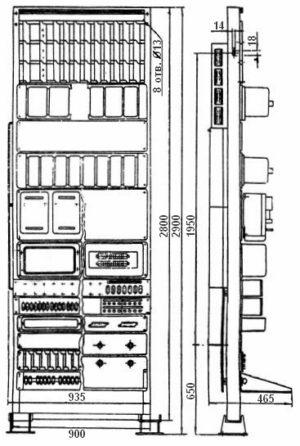 Статив релейный СРКМ-75
