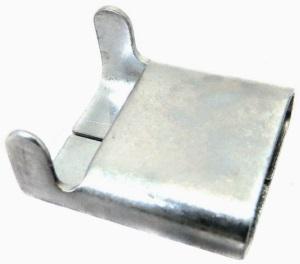 Скрепа для монтажной ленты НС-20-L (без зубьев, C304)