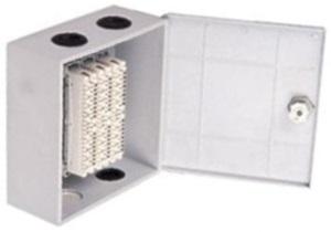 Настенный распределительный бокс пластиковый, 30 пар (с ключом)