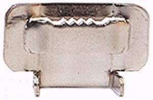Скрепа для монтажной ленты НС-430-Т (с зубьями)