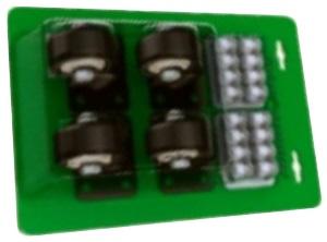 Комплект роликов для модульного ящика (4 шт) ШТОК