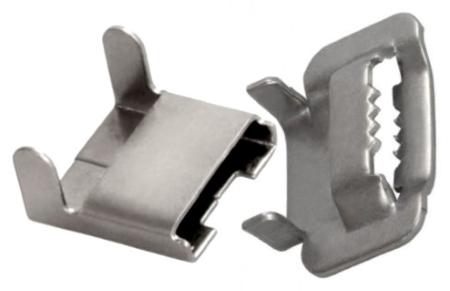 Монтажные скрепы для волоконно-оптического кабеля