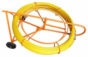 Устройство закладки кабеля для кабельной канализации длиной 150 м 400×1000×1200 (металл. рама + стеклопруток)