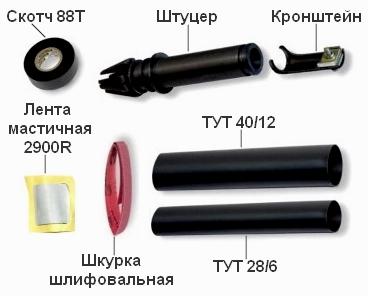 Универсальный комплект ввода кабеля №3