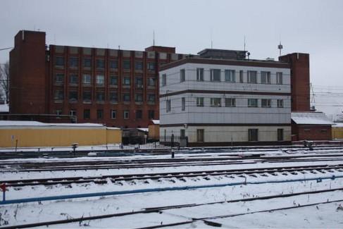 Здание поста маршрутно-релейной централизации